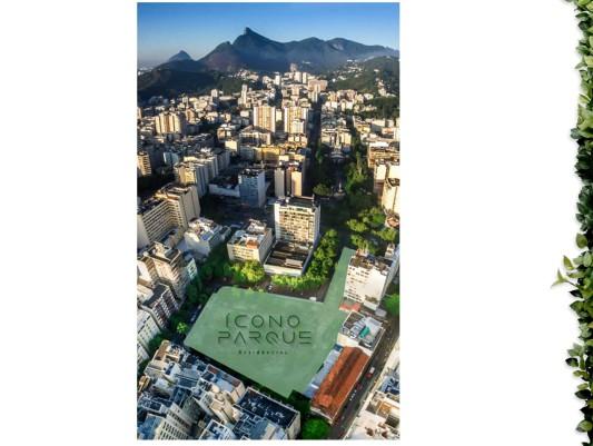 localização exata do lançamento icono parque flamengo