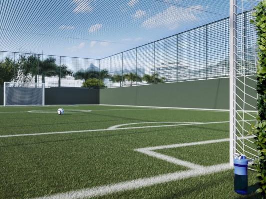 mini campo de futebol icono parque flamengo