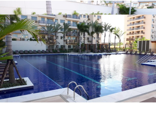 like residencial club piscina com deck