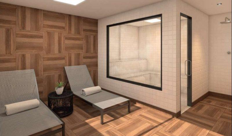 trendy ehome tijuca sauna e repouso