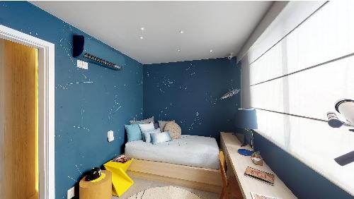 decorado 3 quartos quarto quadrilatero botafogo
