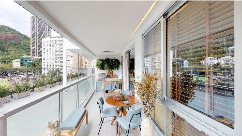 decorado 3 quartos varanda vista full quadrilatero botafogo