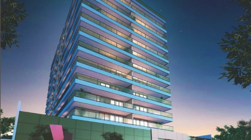 perspectiva do prédio
