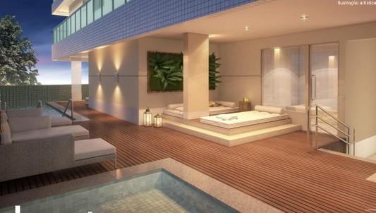 sauna úmida com repouso e solarium