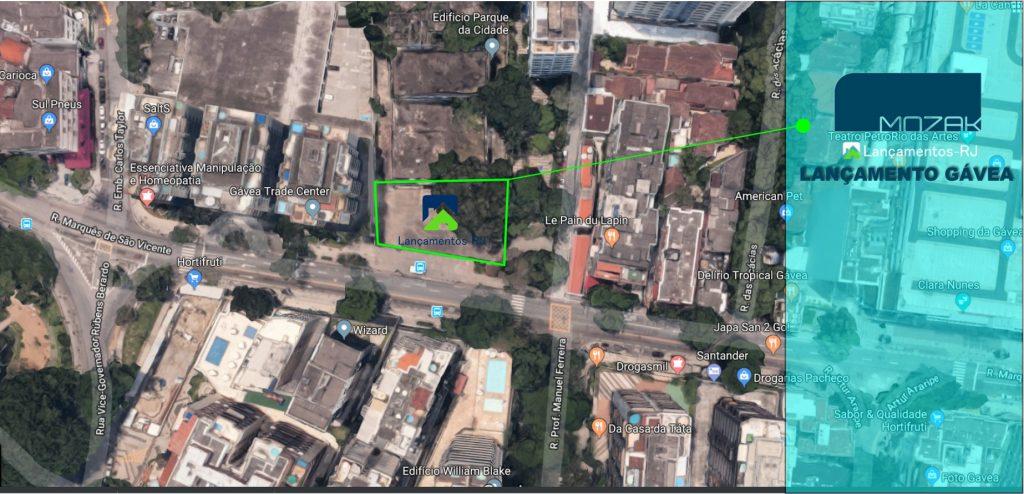 Lançamento Residencial Mozak na Gávea Zona Sul RJ