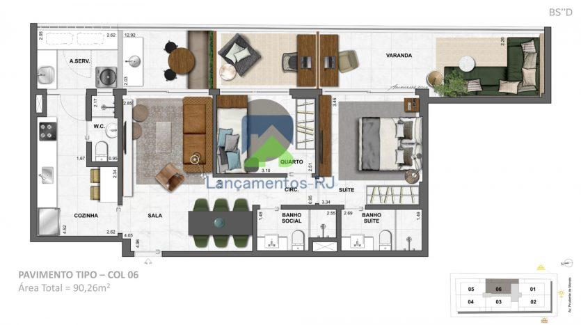apartamento rua prudente de morais 564 ipanema