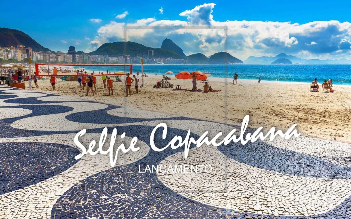 Lançamento Copacabana Selfie