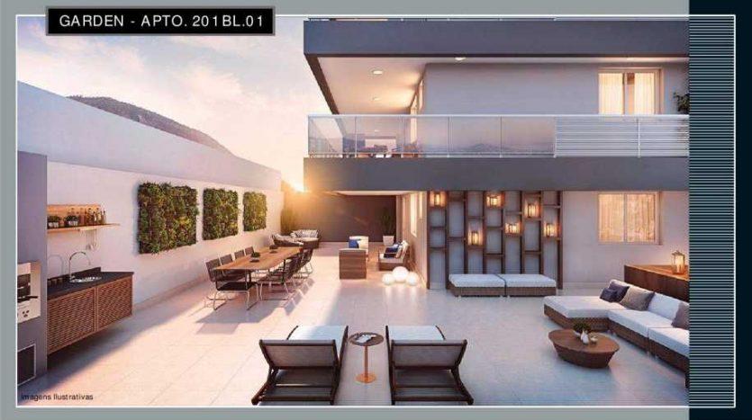 you botafogo apartamento garden