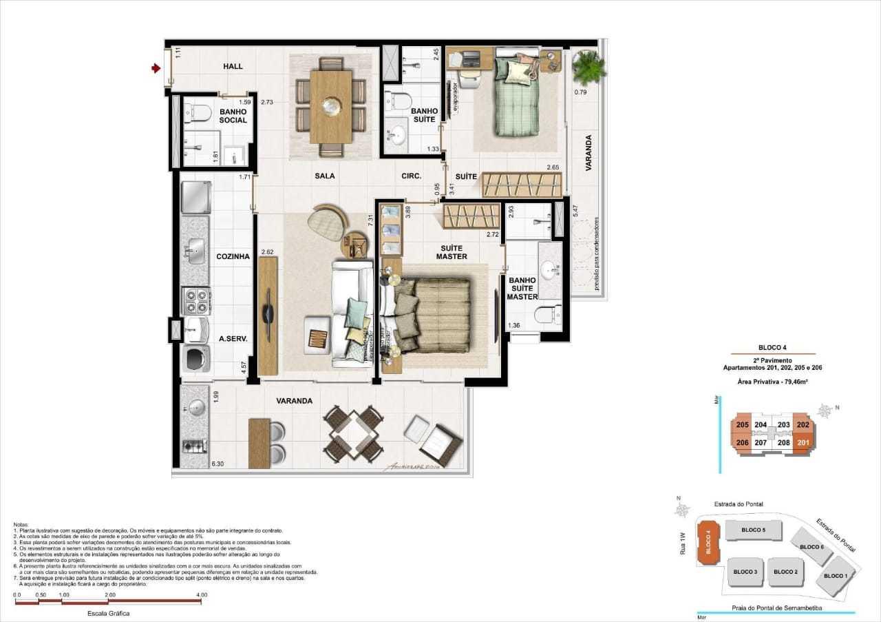 nirvana apartamentos pontal