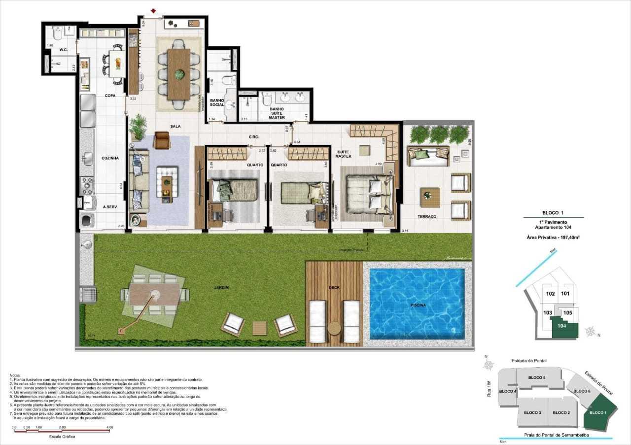 lançamento nirvana premium apartamentos recreio pontal