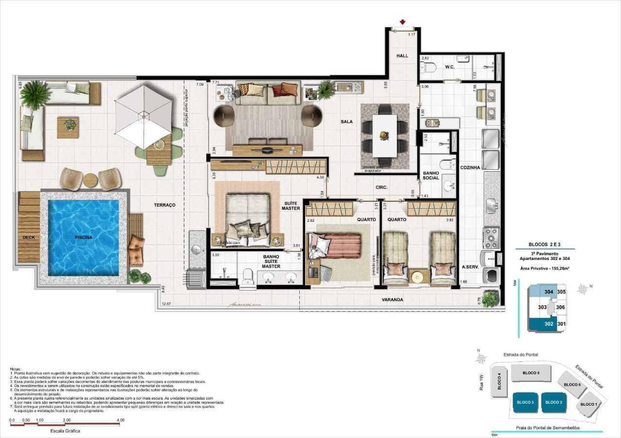 premium apartamentos recreio