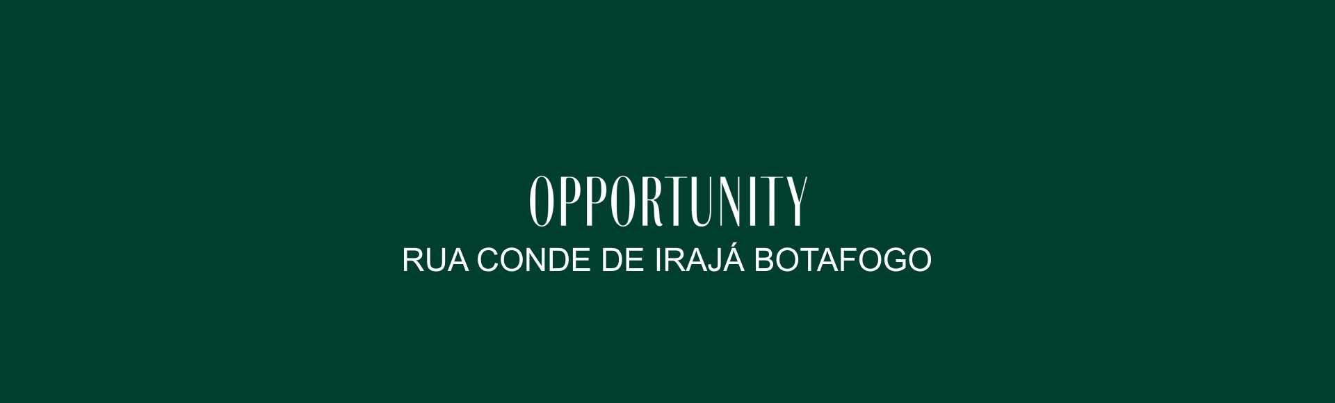 rua conde de irajá botafogo opportunity