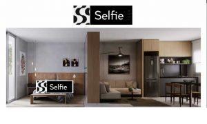 apartamento selfie