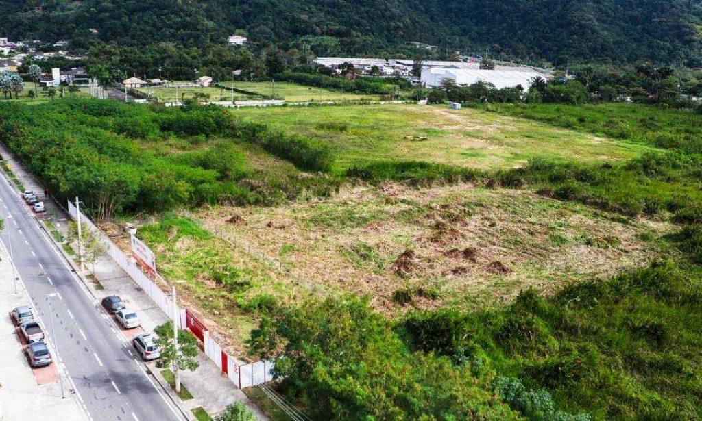 pontal oceânico área do lançamento residencial recanto do pontal