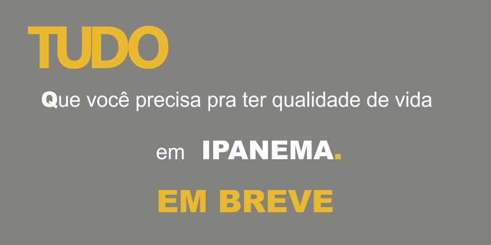 Em breve em 2021 um lançamento residencial na praia do arpoador Ipanema da maior incorporadora do Brasil.